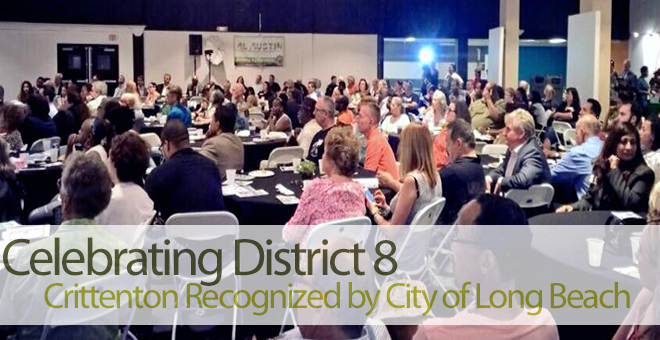 Crittenton Honored By City of Long Beach