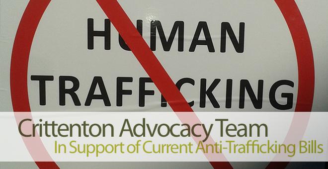 Crittenton Trafficking Legislation