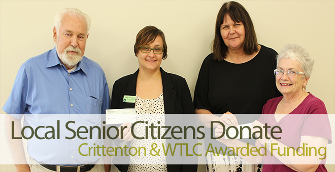 Fullerton Senior Citizens Club Donation