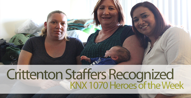 Crittenton Staffers are KNX 1070 Heroes of the Week