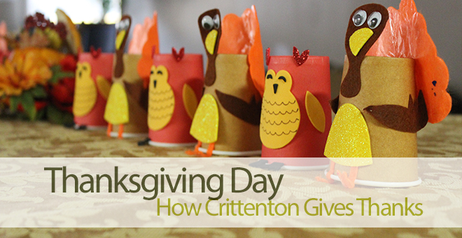 How Crittenton Gives Thanks