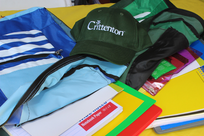 Crittenton Back to School Event