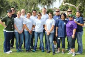 Fullerton Police Department and CSCF Staff at the 2013 Crittenton Summer Olympics.