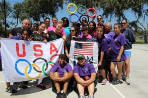 CSCF staff and community partners at the 2013 Crittenton Summer Olympics.