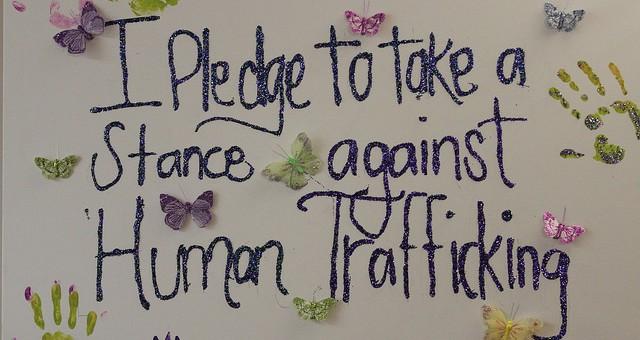 Anti Human Trafficking Anti Human Trafficking Pledge